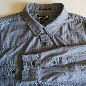 Helix Athletic Fit casual shirt